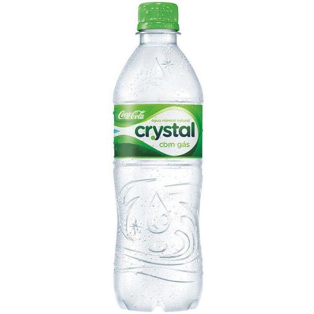 Oferta de Água Mineral Crystal 500ML Com Gás por R$1,09