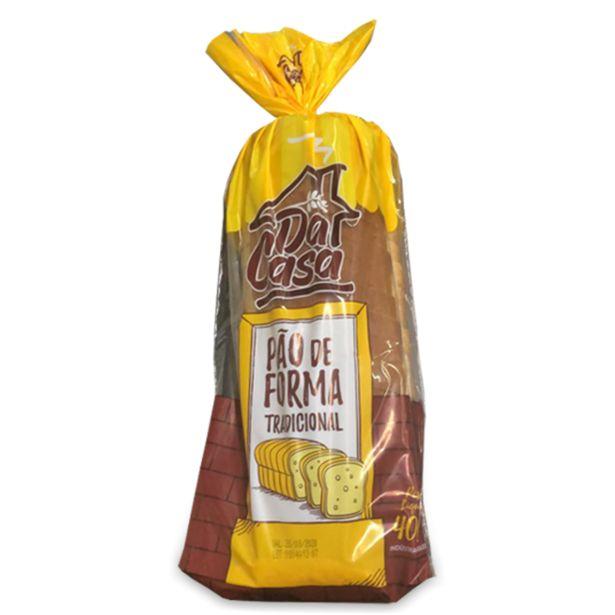 Oferta de Pão de Forma Tradicional da Casa 400G por R$3,59