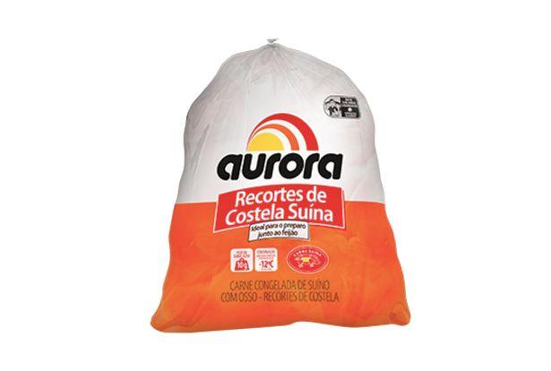 Oferta de Recorte de Costela Suina Aurora KG por R$8,99