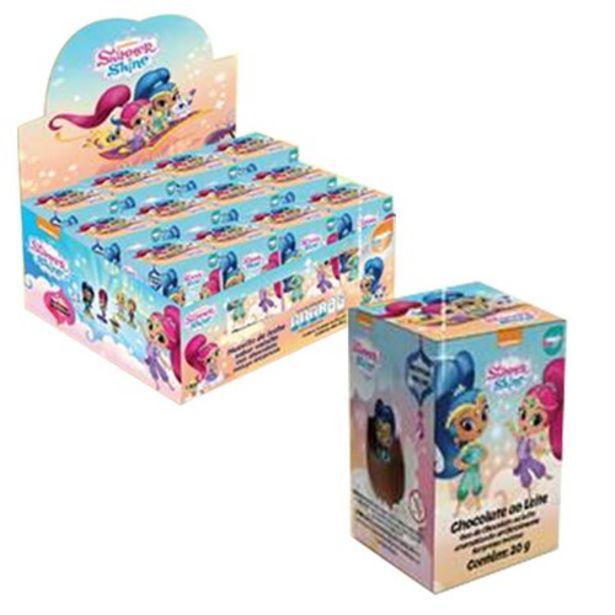 Oferta de Chocolate Shimmer e Shine Ovo Supresa Embalagem 20G por R$7,99