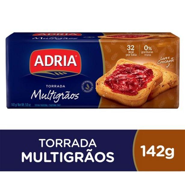 Oferta de Torrada Adria Multigrãos 142G por R$2,49