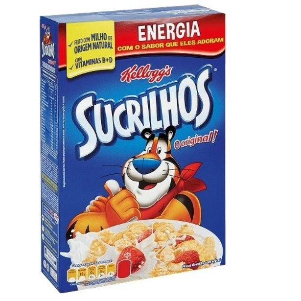 Oferta de Cereal Matinal Sucrilhos Kelloggs Original Embalagem 250G por R$8,99