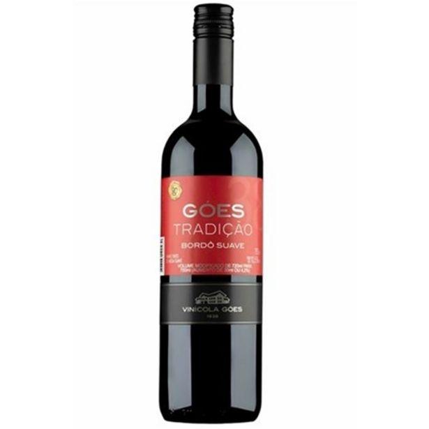 Oferta de Vinho Tinto Goes Tradição Suave 750Ml por R$16,99