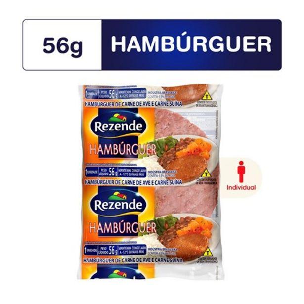 Oferta de Hambúrguer Misto Rezende 56G por R$1,19