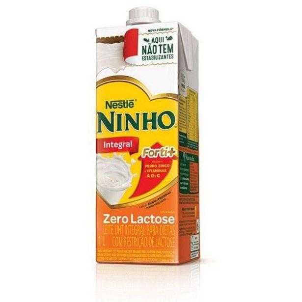 Oferta de Leite Ninho Integral Zero Lactose 1L por R$5,99