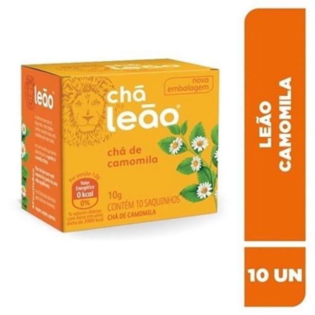 Oferta de Chá Leão Camomila Sachê 10Un por R$3,99