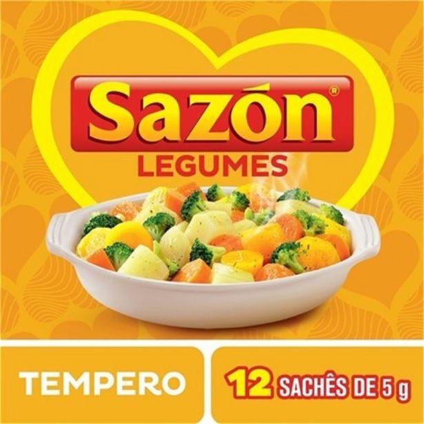 Oferta de Tempero Sazón Legumes 60G por R$3,99