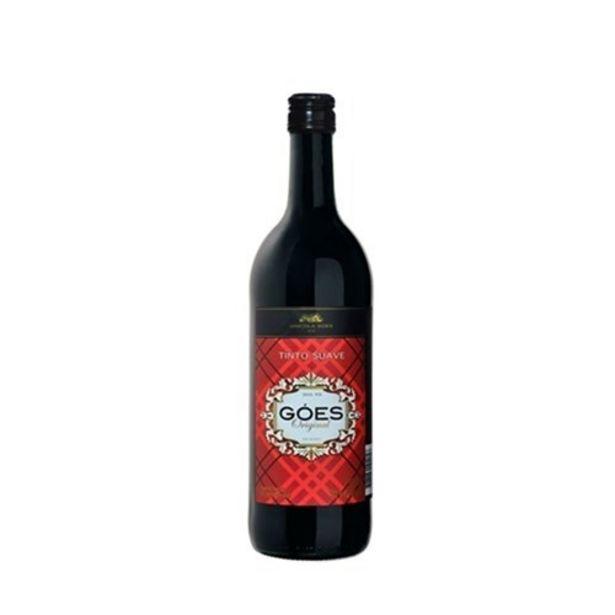 Oferta de Vinho Tinto Goes Original Suave 750Ml por R$12,99