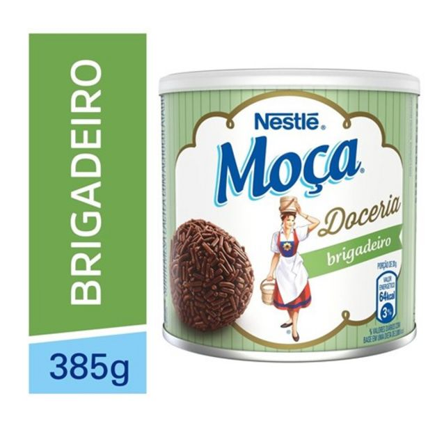 Oferta de Sobremesa Moça Brigadeiro 385G por R$10,99
