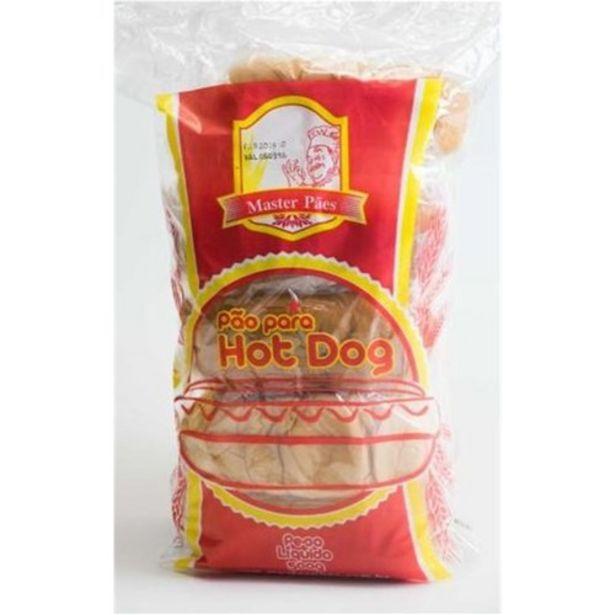 Oferta de Pão Hot Dog Master Embalagem 10Un por R$5,49