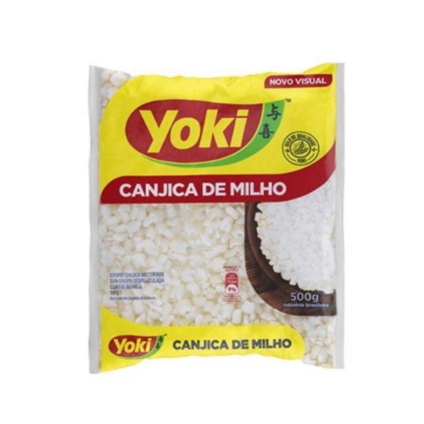 Oferta de Canjica Branca Yoki 500G por R$3,99