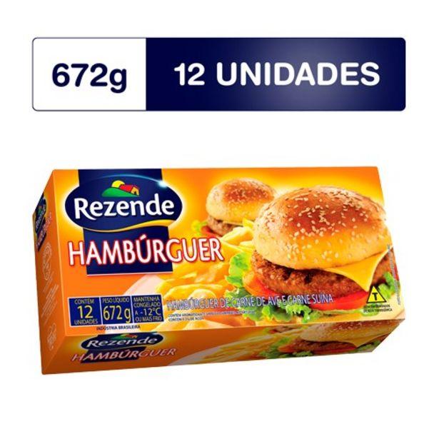 Oferta de Hambúrguer Misto Rezende 672G por R$18,09