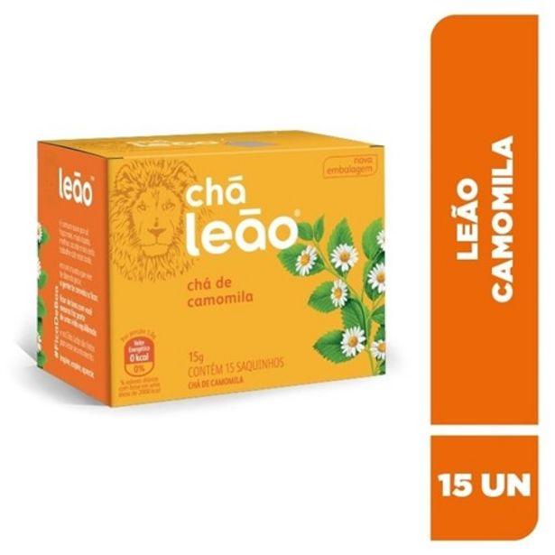 Oferta de Chá Leão Camomila Sachê 15Un por R$6,99
