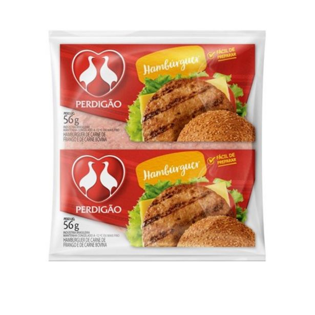 Oferta de Hambúrguer Misto Perdigão 56G por R$1,69