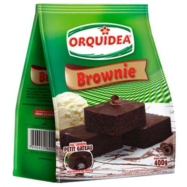 Oferta de Mistura para Brownie Orquídea 400G por R$4,99