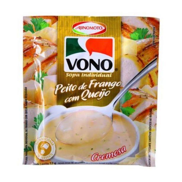 Oferta de Sopa Vono Peito de Frango com Queijo 18G por R$2,99