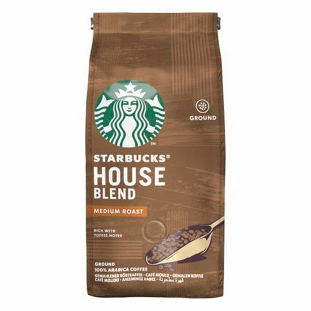 Oferta de Café Starbucks House Blend Medium Roast 250G por R$24,5