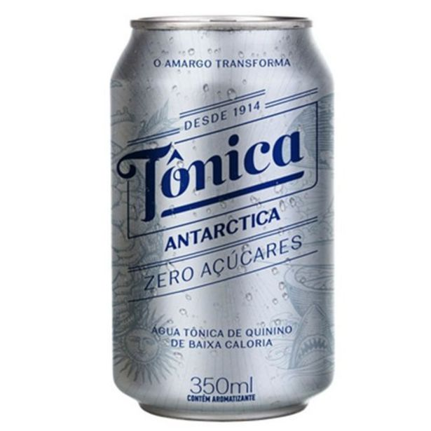 Oferta de Água Tônica Antarctica Zero 350Ml por R$2,99