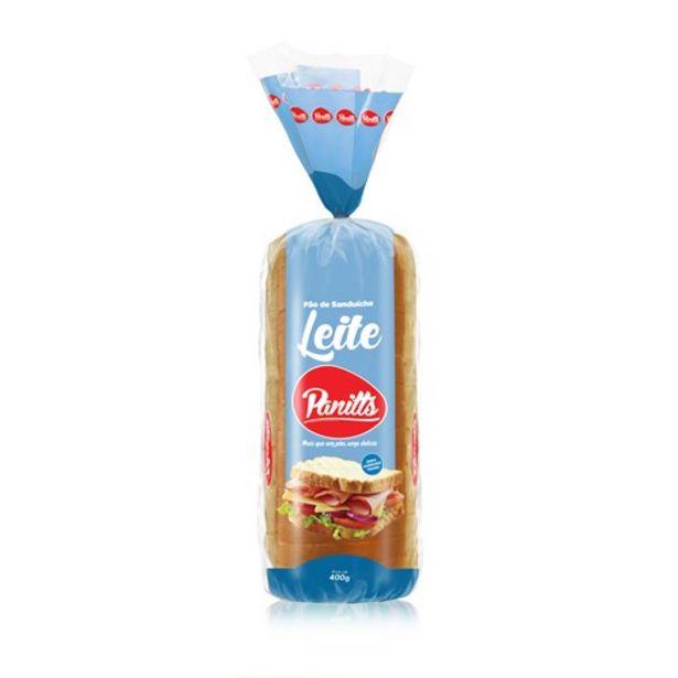 Oferta de Pão de Leite Panitts Embalagem 400G por R$4,99