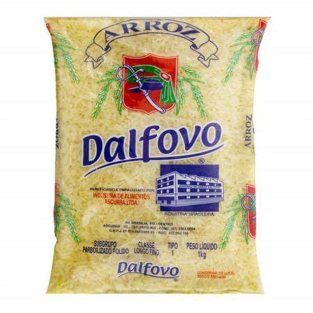 Oferta de Arroz Parboilizado Dalfovo Embalagem 1Kg por R$4,49