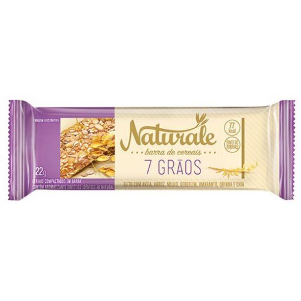 Oferta de Barra de Cereal Naturale 7 Grãos Embalagem 22G por R$0,99
