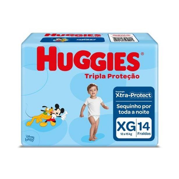 Oferta de Fralda Huggies Tripla Proteção Xg Pacote 14Un por R$14,9