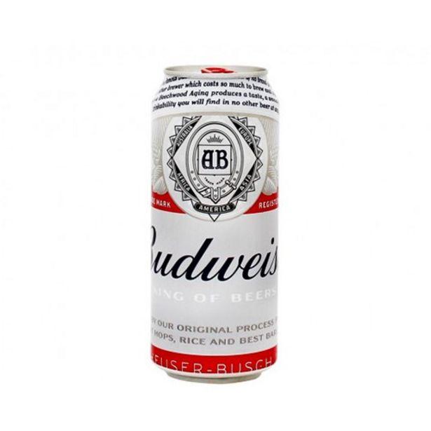 Oferta de Cerveja Budweiser 473Ml por R$3,99