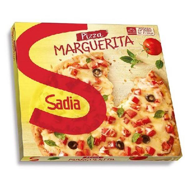 Oferta de Pizza Sadia Marguerita 460G por R$12,9