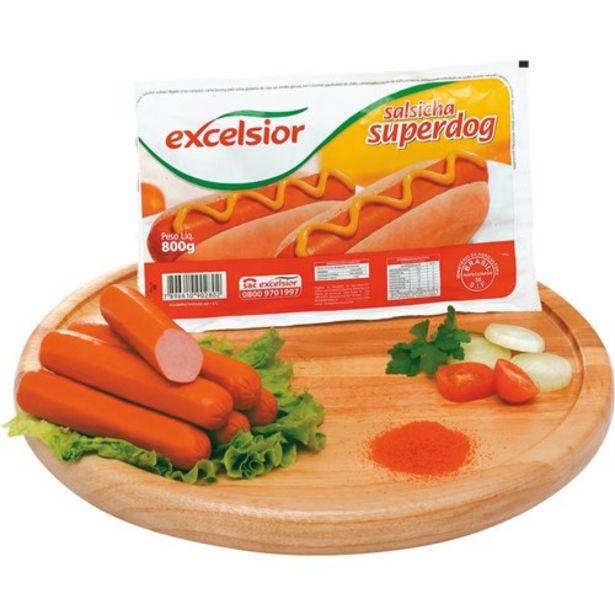 Oferta de Salsicha Excelsior Super Dog Embalagem 800G por R$14,9