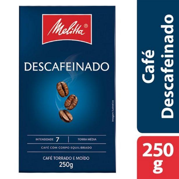 Oferta de Café Mellita Descafeinado 250G por R$14,9
