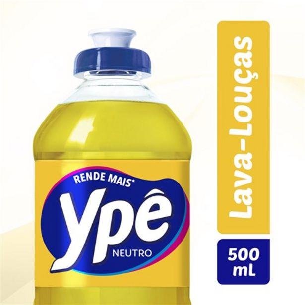 Oferta de Detergente Ypê Neutro 500Ml por R$2,49