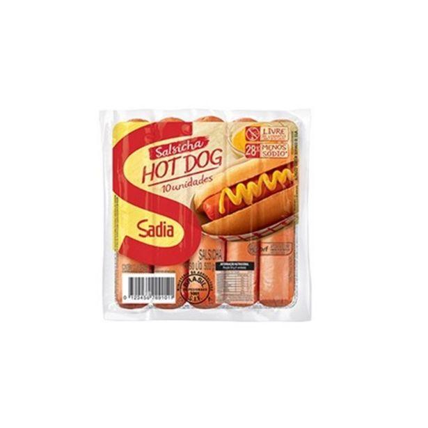 Oferta de Salsicha Sadia Hot Dog 500G por R$12,9