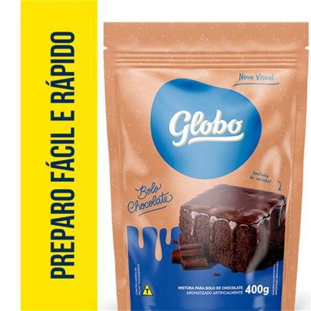 Oferta de Mistura para Bolo Globo Chocolate Pacote 400G por R$3,99