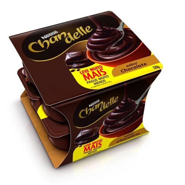 Oferta de Sobremesa Chandelle Chocolate Oferta 8Un por R$15,59