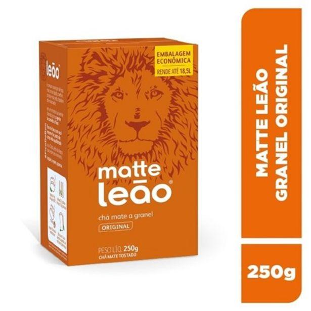 Oferta de Chá Matte Leão Original Granel 250G por R$7,25
