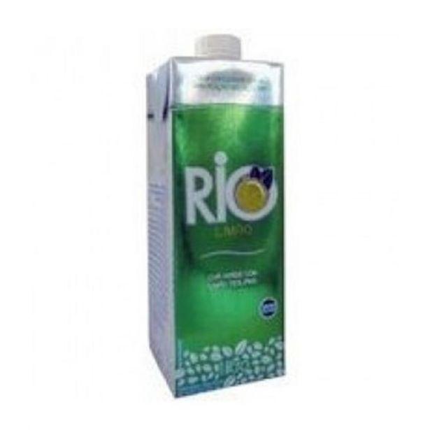 Oferta de Chá Verde com Limão Rio Caixa 1L por R$7,79