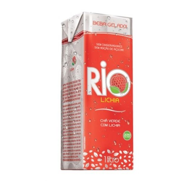 Oferta de Chá Verde com Lichia Rio Embalagem 1L por R$7,79