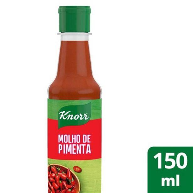 Oferta de Molho de Pimenta Knorr 150Ml por R$5,75