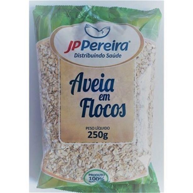 Oferta de Aveia Jp Pereira em Flocos Embalagem 250G por R$4,25