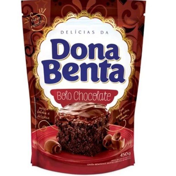 Oferta de Mistura para Bolo Dona Benta Chocolate Pacote 450G por R$4,79