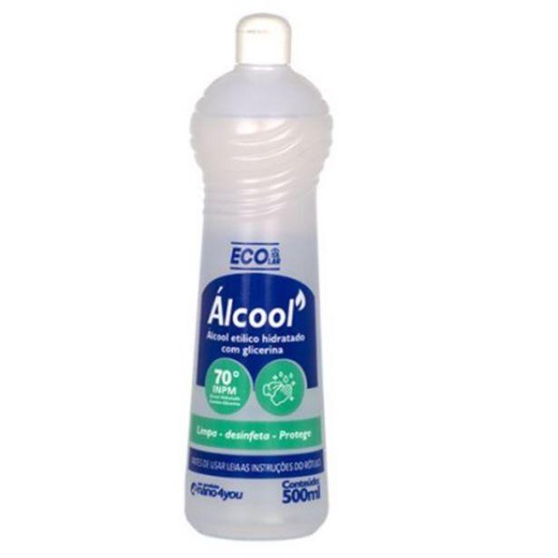 Oferta de Álcool 70 Ecolar Líquido 500Ml por R$4,79