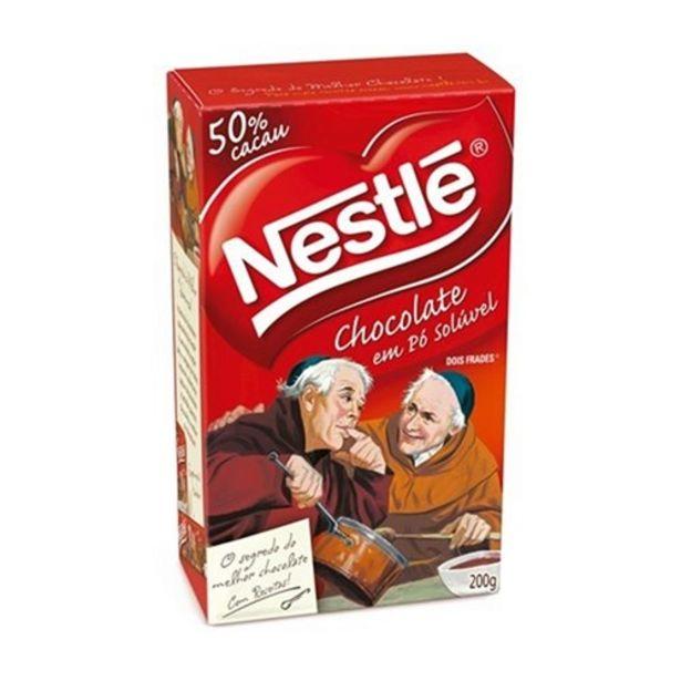 Oferta de Chocolate em Pó Nestlé Dois Frades 200G por R$16,5