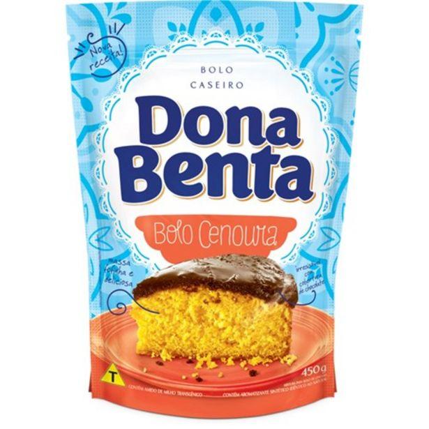 Oferta de Mistura para Bolo Dona Benta Cenoura Pacote 450G por R$3,99