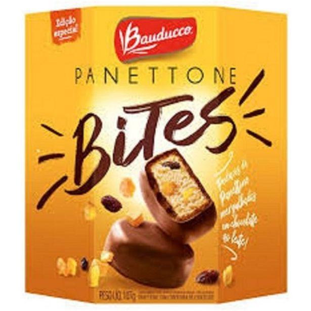 Oferta de Panetone Bauducco Bites 107G por R$7,99