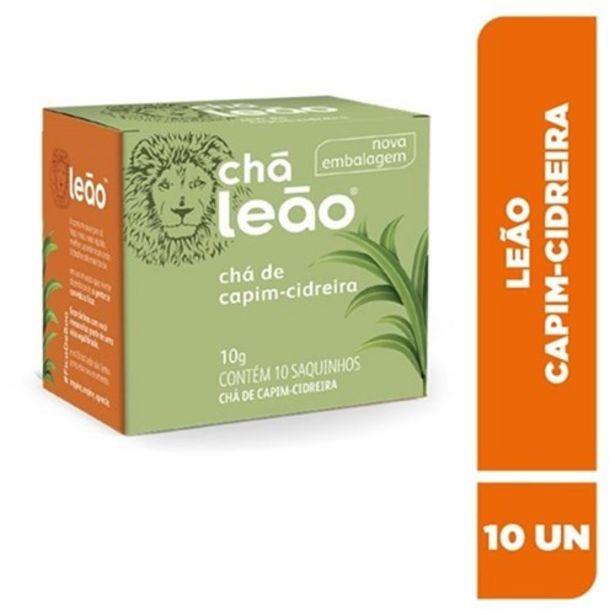 Oferta de Chá Leão Capim Cidreira Sachê 10Un por R$3,15