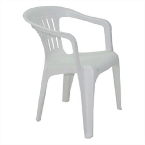 Oferta de Poltrona Plastica Tramontina Atalaia por R$49