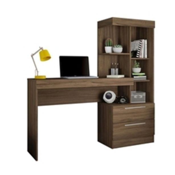Oferta de Escrivaninha Notavel Office NT2010 - Nogal Trend por R$429