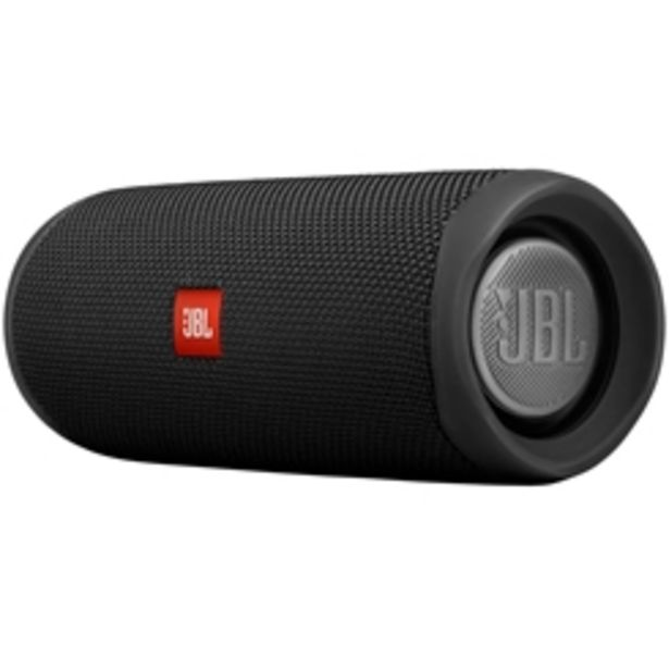 Oferta de CAIXA PORTAIL JBL FLIP5 BLK 20W PRETO por R$729