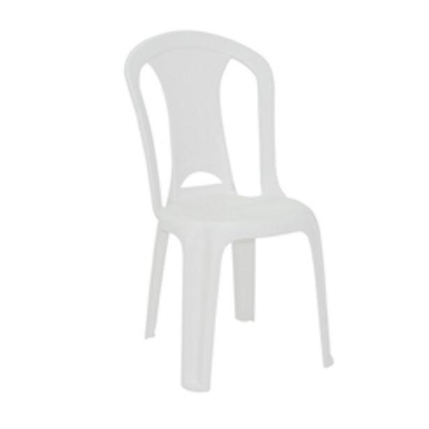 Oferta de Poltrona Plastica Tramontina Torres Branca por R$59