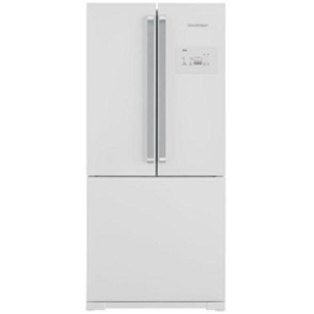 Oferta de Refrigerador Brastemp 540 Litros, 3 Portas, Side Inverse BRO80AB por R$6499